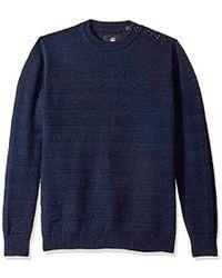 G-Star RAW - Dadin Indigo R Sweater - Lyst