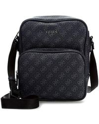 D-ANTIDOTE Fila Logo Mini Crossbody Bag in Black for Men - Lyst be63bfcaa506e