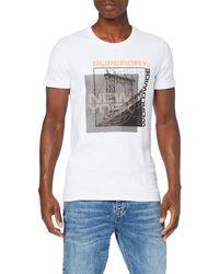 Superdry Ticket Type City Tee T-Shirt - Blanc
