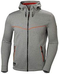 1e69c60c19 S Chelsea Evolution Full Zip Hooded Work Hoodie Jacket - Gray