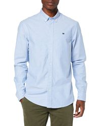 Scotch & Soda NOS Oxford Shirt Relaxed fit Button down Collar Freizeithemd - Blau