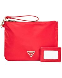 Guess Did I Say 90s? Cosmetic Bag 24cm Red