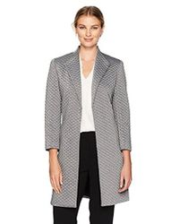 Kasper - Quilted Metallic Topper - Lyst