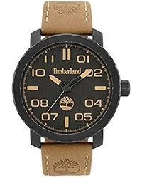 1a9288e64daf Timberland - Reloj Análogo clásico para Hombre de Cuarzo con Correa en Cuero  TBL.15377JSB