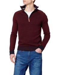 Tom Tailor Stehkragen Pullover - Lila
