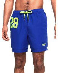 Superdry M30002PQF1 Shorts - Blau