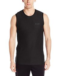 Columbia - Diamond Mesh Muscle Tee - Lyst