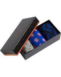 Ted Baker Three Pack Of Socks 248059 - One - Blue
