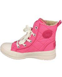 Converse Chuck Taylor Ct Alice Fleece S Pink Boots 532327c Y9a