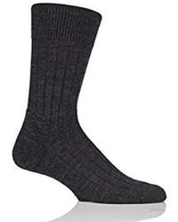 Herb Green Falke Mens Teppich Im Schuh Socks