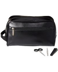 Kenneth Cole Reaction - Travel Toiletry Bag Shaving Kit With 3 Piece Manicure Set - Lyst