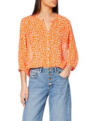 French Connection - Etta Kiss Blouse - Lyst