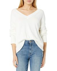 The Drop - Lisa Pull doux ample à col V - Lyst