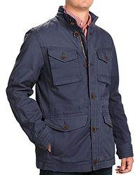 9c0e13f956b Jacket Shaw Field Coat - Blue