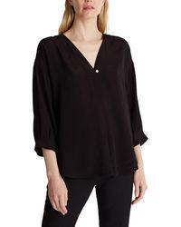 Esprit Collection 060EO1F303 Camicia da Donna - Nero