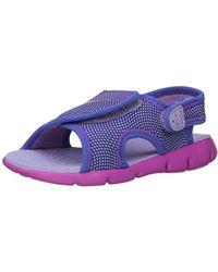 e4009c6c79853 Sandal Sunray Adjust 4 Purple/pink