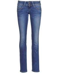 Pepe Jeans Venus Jeans s Bleu Medium - EU 38/40 (US 29/32) - Jeans Droit