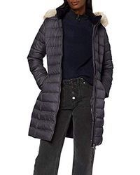 Tommy Hilfiger Tommy_Jeans Tjw Essential Hooded Down Coat Giacca Donna - Nero
