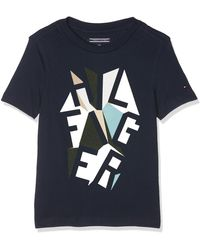 Tommy Hilfiger - Graphic Cn tee S/s Camiseta - Lyst