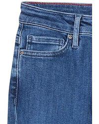 Tommy Hilfiger Venice Slim Rw Betty Straight Jeans - Blue