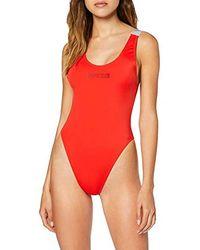 Calvin Klein Calvin KW0KW00825, Traje de Baño para Mujer - Rojo