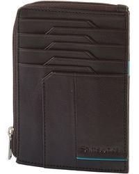Samsonite All-In-One Wallet With Zip Around Porte-Carte de - Marron