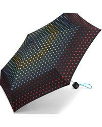 Esprit - Mini ombrello a pois colorati monocromo Taglia unica - Lyst
