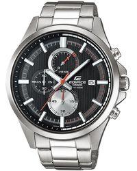 G-Shock - Orologio Cronografo Quarzo da Uomo con Cinturino in Acciaio Inox EFV-520D-1AVUEF - Lyst