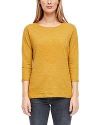S.oliver 14.909.39.4141 T-Shirt - Gelb