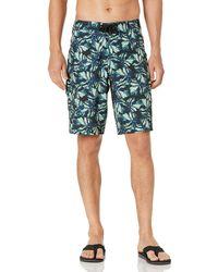 Goodthreads 11 Inch Inseam Swim Boardshort Fashion-Board-Shorts - Azul