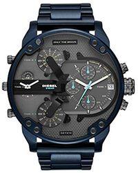 DIESEL Horloge DZ7414 - Bleu