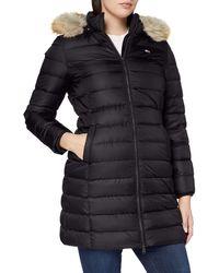 Tommy Hilfiger TJW Essential Hooded Down Coat Chaqueta - Gris