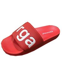Superga Unisex Adults' Slides Pvc Loafers - Red