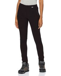 Regatta Pentre Stretch Trousers - Black