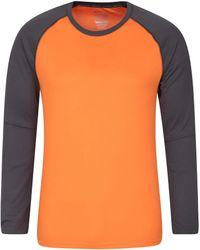 Mountain Warehouse Endurance S Top – Long - Orange