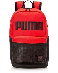 PUMA Generator Backpack, Medium Red, One Size
