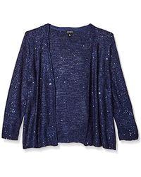 Jones New York - Sequin Tunic Sweater - Lyst