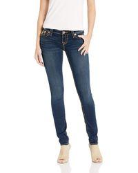 True Religion Stella Low Rise Skinny Jean - Blue