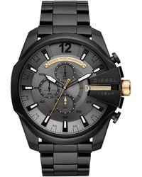 DIESEL Orologio Cronografo Quarzo Uomo con Cinturino in Acciaio Inox DZ4479 - Grigio