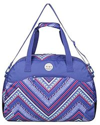 Roxy - S Too Far Canvas And Beach Tote Bag - Lyst