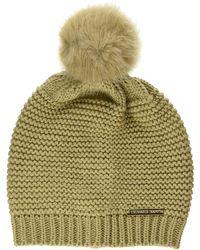 Trussardi Beanie Knit ECOFUR PON Berretto - Multicolore