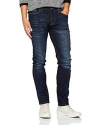 True Religion - Herren Slim Jeans New Rocco Superdenim Blue Authentic - Lyst