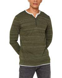 Esprit 099ee2k016 Long Sleeve Top - Green