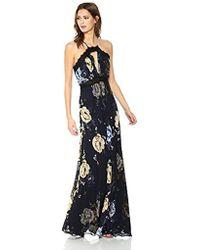 JILL Jill Stuart - Floral Prtined Gown - Lyst