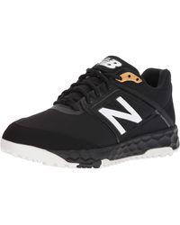 New Balance 3000v4 Turf Baseball Shoe - Nero