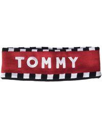 Tommy Hilfiger Tommy Logo Head Band Headband - Red