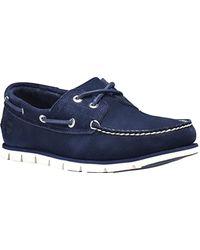 Timberland Tidelands 2 Eye, Chaussures Bateau Homme - Bleu