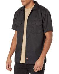 Dickies Short-sleeve Work Shirt - Black