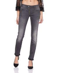 G-Star RAW Lynn Zip Mid Waist Skinny Jeans - Multicolour