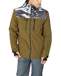 Quiksilver Insulated Jacket - Green